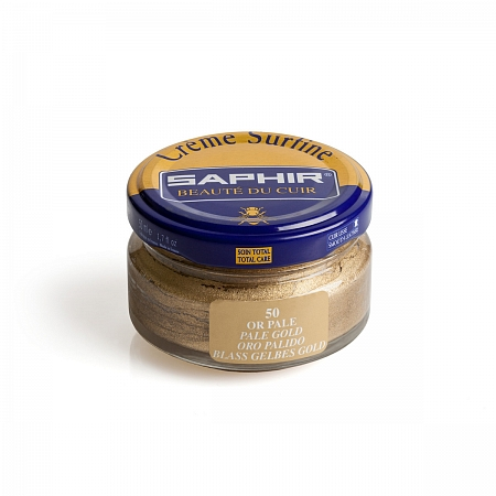 Saphir Creme Surfine Pale Gold