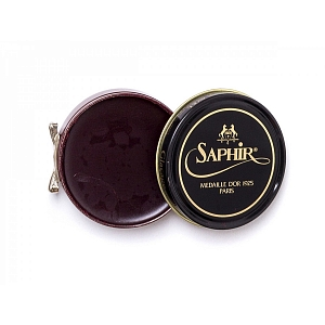 2Картинка Saphir Medaille D'or Pate De Luxe, 50ml Mahogany