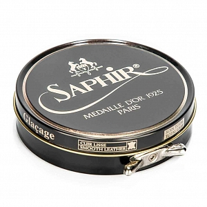 2Картинка Saphir Medaille D'or Pate De Luxe, 100ml Black