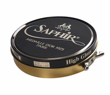 Saphir Medaille D'or Pate De Luxe, 100ml Navy Blue