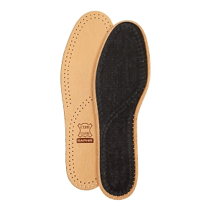 4Картинка Saphir Semelle Insole Cuir Luxe Sur Charbon